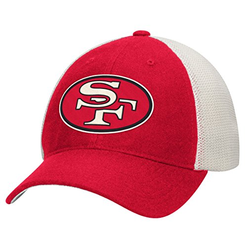 Mitchell & Ness San Francisco 49ers NFL Mesh Back Slouch Adjustable Hat