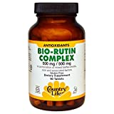 Country Life, Bio-Rutin Complex, 500 mg / 500 mg, 90 Tablets - 2PC