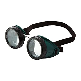 Sellstrom Eye Cup Protective Safety Goggle 50 Mm Clear Lens Green Goggle Body Black Adjustable Strap S85110 Safety Goggles Amazon Com Industrial Scientific