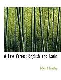 A Few Verses, Edward Smedley, 0554850591