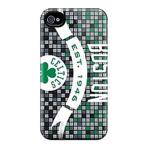 Faddish Phone Boston Celtics Case For Iphone 4/4s / Perfect Case Cover