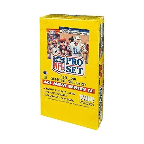 Set Series 2 Football Box - 1990 Pro Set Series 2 Football Box