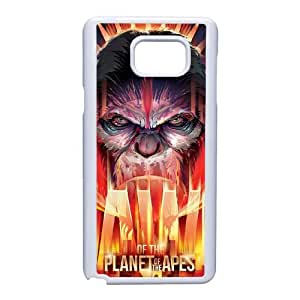 Dawn Of The Planet Of The Apes Funda Samsung Galaxy Note 5 Funda Caja del teléfono celular blanco A6W7YV