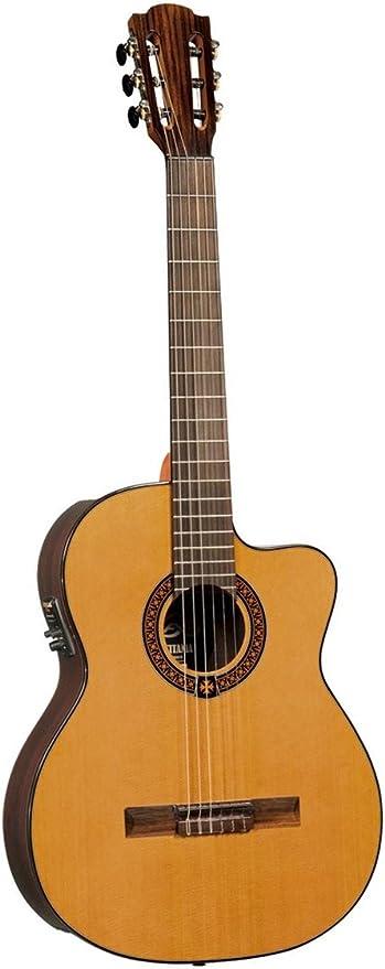 Lag OC300CE - Occitania guitarra clasica electro-acustica natural ...