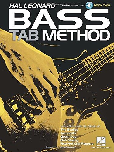 Hal Leonard Bass Tab Method - Book 2 Bk/online audio