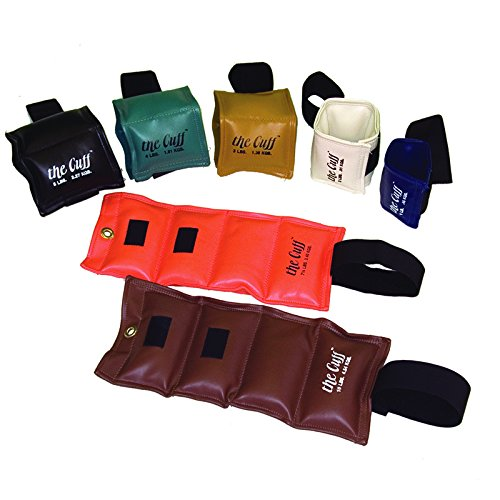 THE CUFF REHABILITATION WEIGHT SET ONLY, INCLUDES 1-, 2-, 3-, 4-, 5-, 7-1/2- AND 10-LB. WEIGHTS