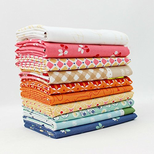 Lori Holt Fat Quarter Bundle (LH.10FQ.C) by Mixed Designers for Southern Fabric (Fq Quilt Fabric)
