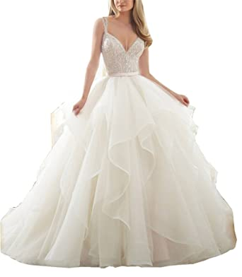 Puffy Wedding Dresses
