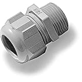 3/4IN NONMETALLIC Cable Gland Black, Pack of 10