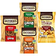 Snyder's of Hanover Pretzels Variety Pack, 4 Flavors, 36 Individual Snack Bags