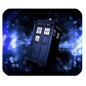 Doctor Who Customized Standard Rectangle Mouse Pad Mouse Mat (Black)
