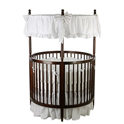 Dream On Me Sophia Posh Circular Crib In Espresso