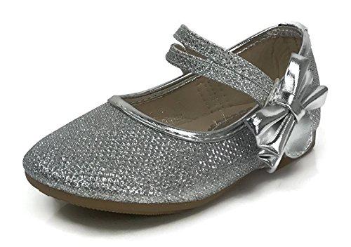 5 5 silver dress shoes - 8