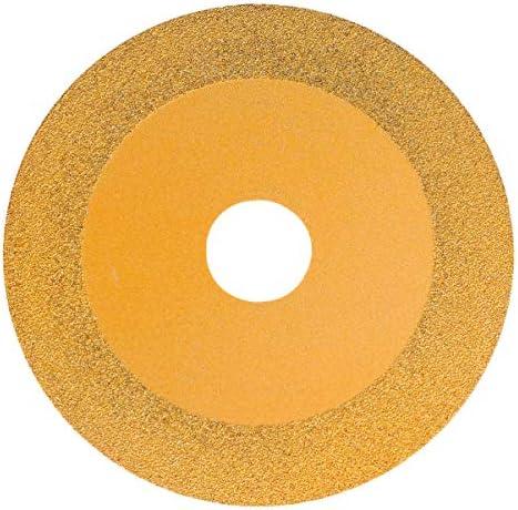 Yardnow ガラス玉セラミック100mm(金色)の砥石研削砥石切断ディスクプレートカッターを切断します。
