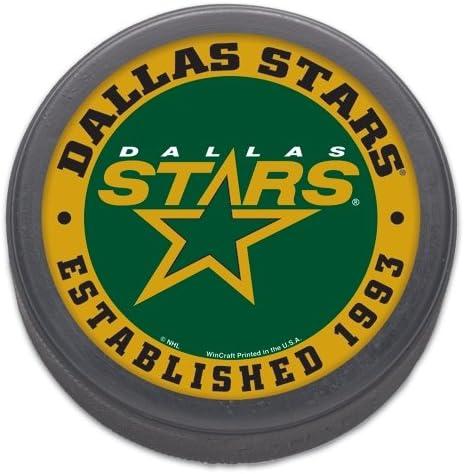 WinCraft NHL Dallas Stars 77431013 Hockey Puck