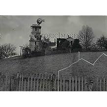 1952 Press Photo Windmill & weather vane tower at Champoeg creeks - orb49034