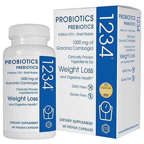 Creative Bioscience Probiotic 1234, 60 Count