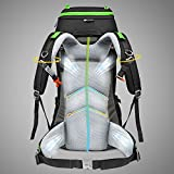 MOUNTAINTOP 50L/60L Hiking Backpack Rain Cover