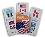 Toys : Flags of the World Flash Cards - 36 Count