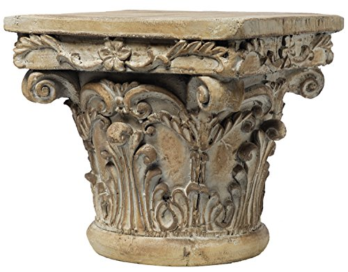 Table Column Accent (A&B Home 73379 Decorative Pedestal, 10 by 10 by 9-Inch)