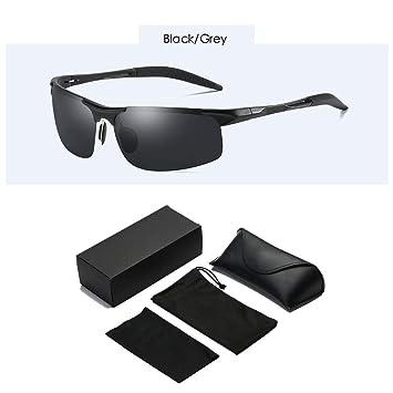 XBDOT Mens Anti-deslumbramiento conducción Gafas polarizadas Gafas de Sol Deportes UV400 Protección irrompible Marco
