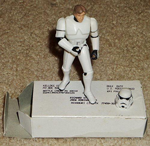 Mail in Away Star Wars Kellogg's Cereal Han Solo Stormtrooper Disguise Figure (New Stormtrooper)