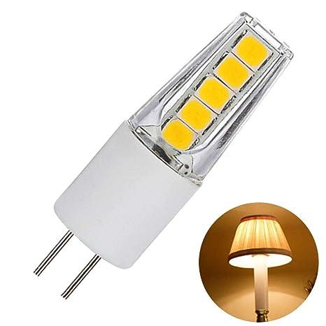 Pack de 5 bombillas LED G4 de 2 W AD/DC12 V no regulables bombilla