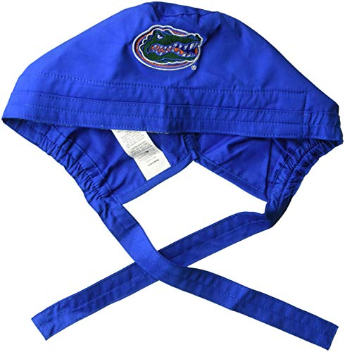 (WonderWink Men's University of Florida Scrub Cap, Royal, 1SZ)