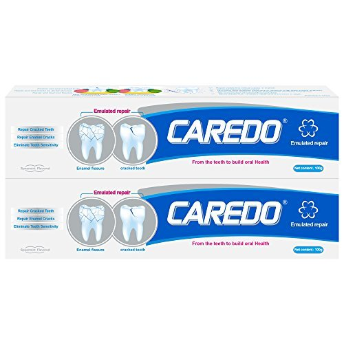 Recover Teeth Crack, Root Damage, Sensitive Pain, Teeth Displacement Caused by Night Molar and Chewing Hard Objects, Remove Pigment on Crack, which is Equivalent to Third Teething. 100g*2