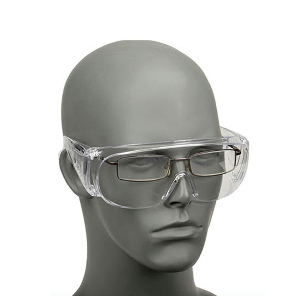 1 paio di occhiali di sicurezza anti sabbia anti virus multifunzione anti saliva unisex