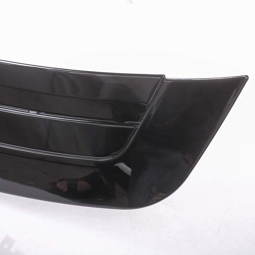 YUECHI for Land Rover Range Rover Vogue LR405 2013-2017 ABS Chrome Gloss Black Hood Panel Cover Trim Model Refitting by YUECHI (Image #5)
