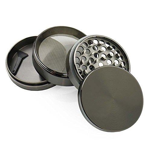 ChefLand-Zinc-Crusher-25-Inch-4-Piece-Tobacco-Spice-Herb-Grinder