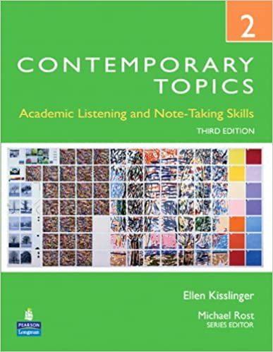 Contemporary topics 2 academic listening and note taking skills contemporary topics 2 academic listening and note taking skills 3rd edition ellen kisslinger 9780132345248 amazon books fandeluxe Image collections