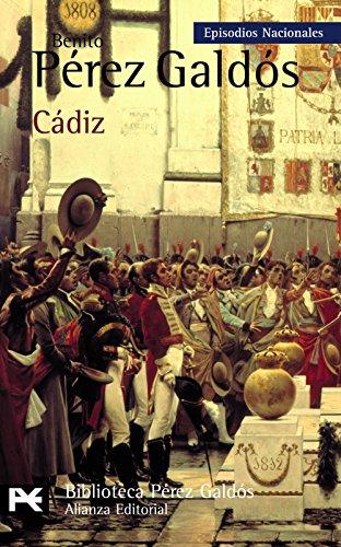 Descargar Libro Cádiz: Episodios Nacionales, 8 / Primera Serie Benito Pérez Galdós