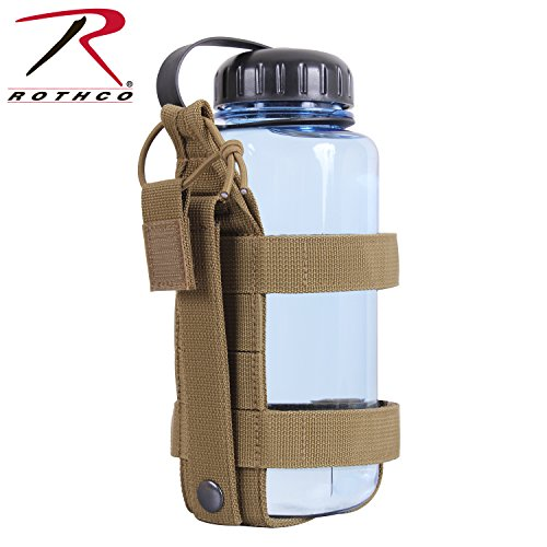 Rothco 2110 Lightweight MOLLE Bottle Carrier, Coyote Brown