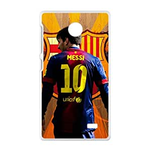 Messi 10 Unicef New Style High Quality Comstom Protective case cover For Nokia Lumia X