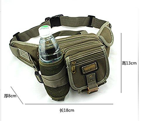 BUSL Senderismo paquetes de Fanny hombres y mujeres del alpinismo al aire libre del teléfono del bolso de gran capacidad de montar bolsillos hervidor de viaje admisión paquete en ejecución . B A
