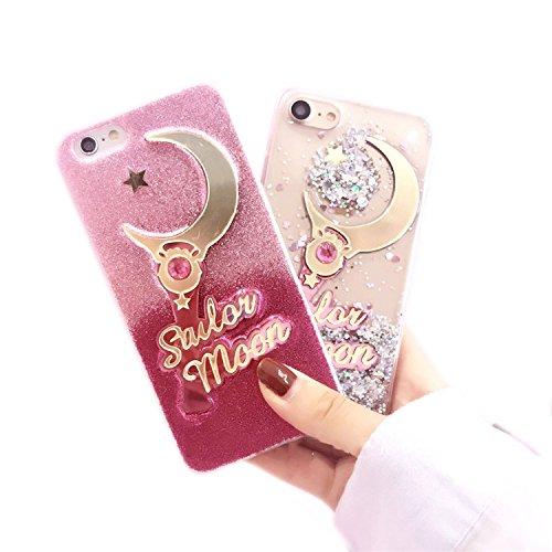 【送料】iPhone7 iPhone8 美少女戦士セーラームーン スティックロッド 可愛い … (クリア)