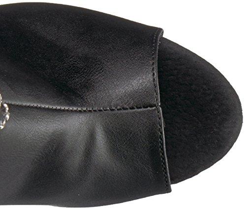 Faux Pleaser Str Blk Matte 2024RSF Blk Leather ADORE fqprHfwP