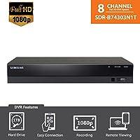 SDR-B74303N (1TB HDD) - Samsung Wisenet 8 Ch 1080p HD DVR from SDH-B74043B, SDH-B74043D