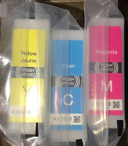 Epson 786 Initial 3 color Ink Set (Yellow Cyan Magenta) Wf-4630 Wf-4640 Wf-5110 Wf-5190 Wf-5620 Wf-5690
