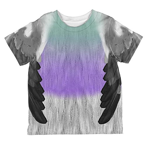 Halloween Pigeon Costume All Over Toddler T Shirt Multi 2T]()