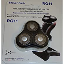 Alternative Shaving Unit (holder) which fits in Philips / Norelco shaver series RQ11xx. RQ1131 RQ1150, RQ1160, RQ1170, RQ1175 RQ1180 RQ1195.
