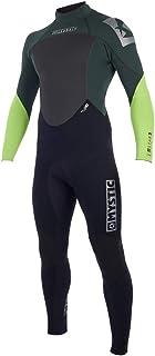 Mystic 2018 Star 4/3mm GBS Back Zip Wetsuit Teal 180019