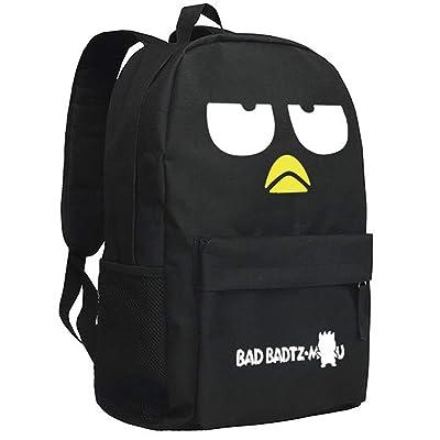 YOURNELO Cartoon Japanese Penguin Purin Rucksack School Backpack Bookbag for Boys Girls (Bad Penguin 1) | Kids\' Backpacks [5Bkhe1105036]