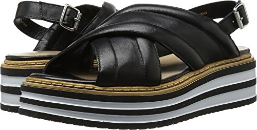 SUMMIT Womens Leanna Black Sandal - 38