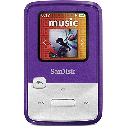 NEW Sansa Clip Zip 4GB Purple (Digital Media Players) (Sansa Zip Clip 4gb)
