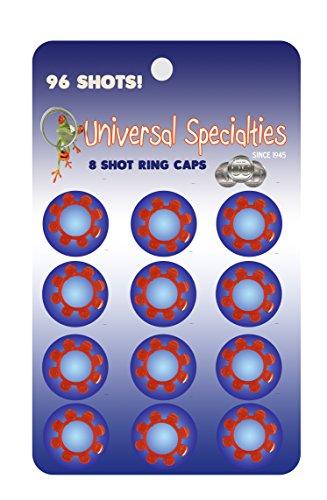 8 cap rings - 6