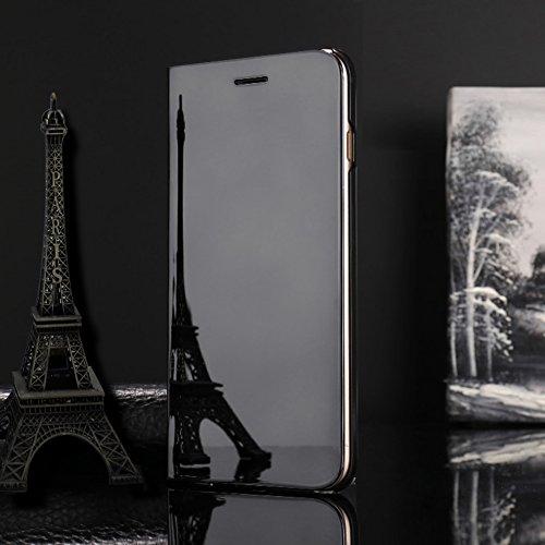 para iPhone 8 Plus / 7 Plus Caso, Vandot de 360 Grados Alrededor de Todo el Cuerpo Completo de Protección Ultra Thin Slim Fit Cubierta de la Caja de Mate PC Absorción de impactos Shockproof para iPhon Clear View-3