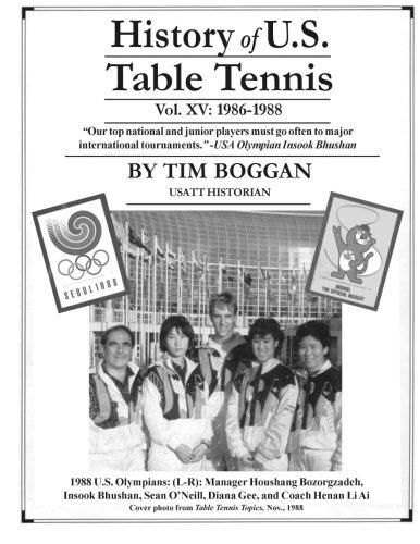 History of U.S. Table Tennis Volume 15